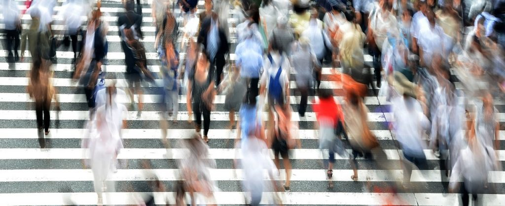 Pedestrians by Brian Merrill