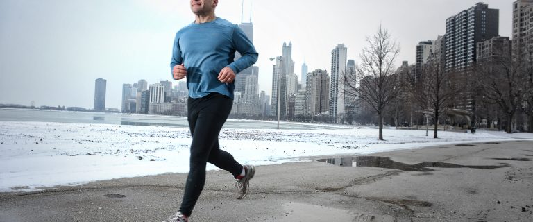 Runner in Chicago by Kyle Cassidy